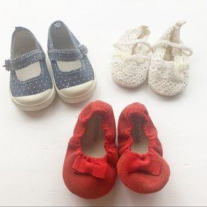 12-18 Month Babygirl Shoe Bundle